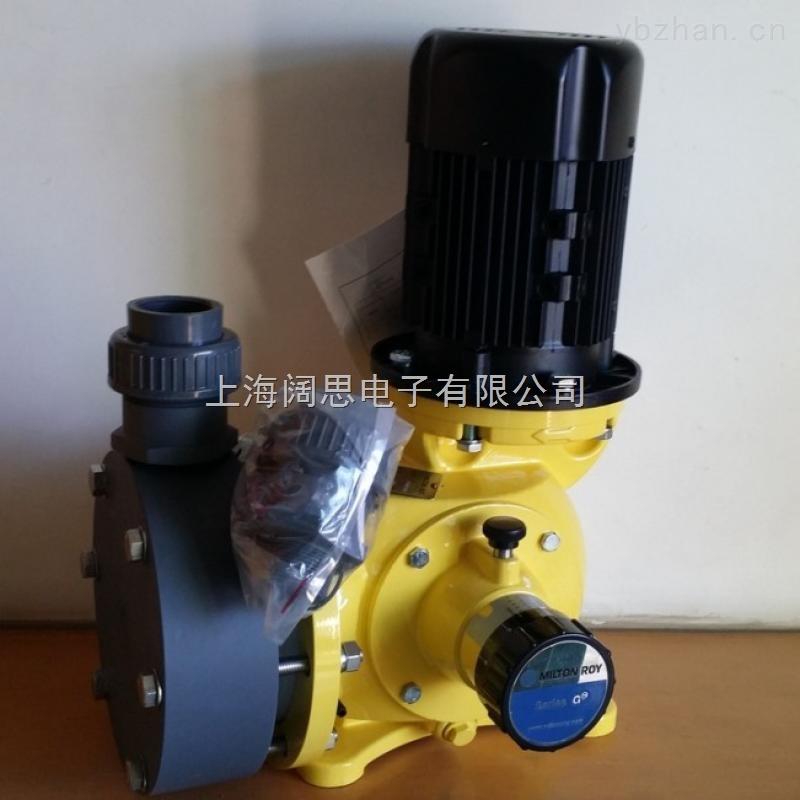 美国米顿罗-GM系列原装进口隔膜计量泵GM0240
