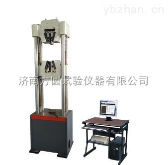 WAW-1000B-圆方扁六角钢屈服抗拉100吨剪切测试设备