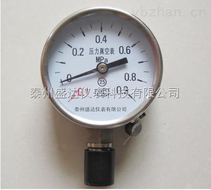各种优质盛达不锈刚高精度真空压力表Y-60