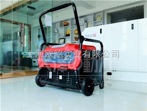 其他 上海欧鲍实业有限公司 房车静音数码发电机 >jte8000is,8kw车载