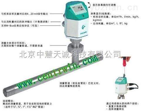热式质量流量传感器/流量计 德国  型号:SDZ5-VA420