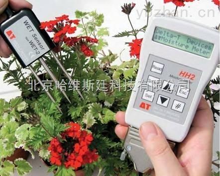 WET-WET 土壤三参数速测仪/土壤温度水分盐分三参数测定仪/土壤多参数测定仪