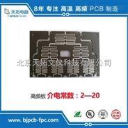 清华大学天线微带线高频电路板加工定制供应