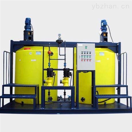 PAC加药装置厂家-水处理絮凝剂加药设备