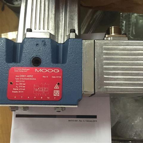 MOOG现货促销伺服阀G761-3004B