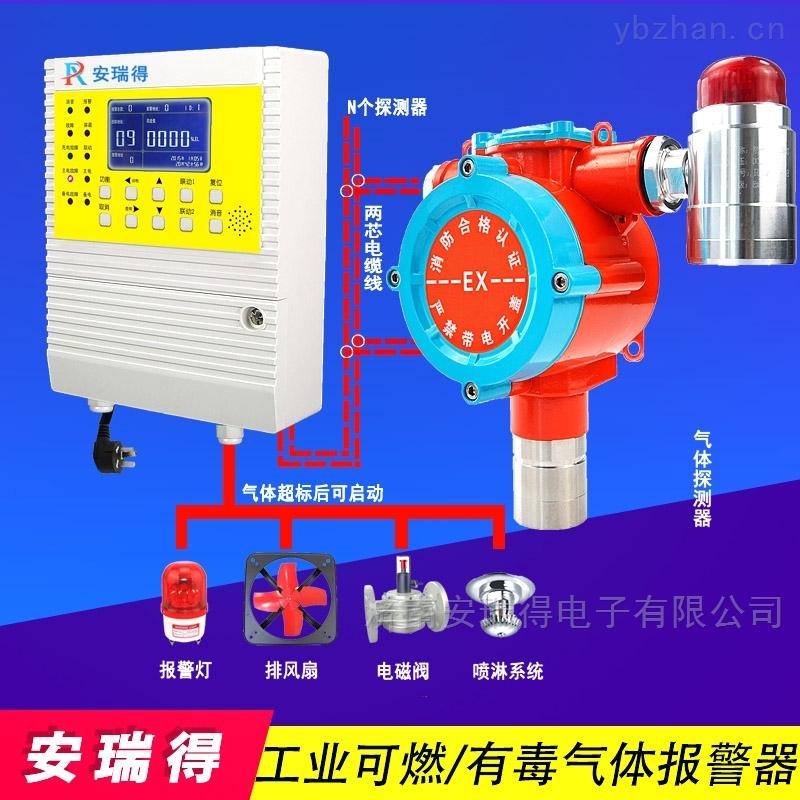 固定式原油气体报警器,可燃气体报警控制器