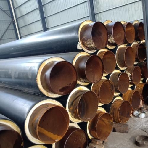 威海生产预制直埋保温管的厂家