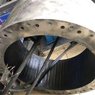 修复成功西门子扭矩电机齿轮槽磨损坏