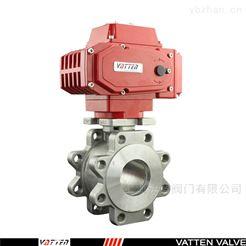 Q971F24V电动304薄型球阀山东电镀采矿废水开关阀