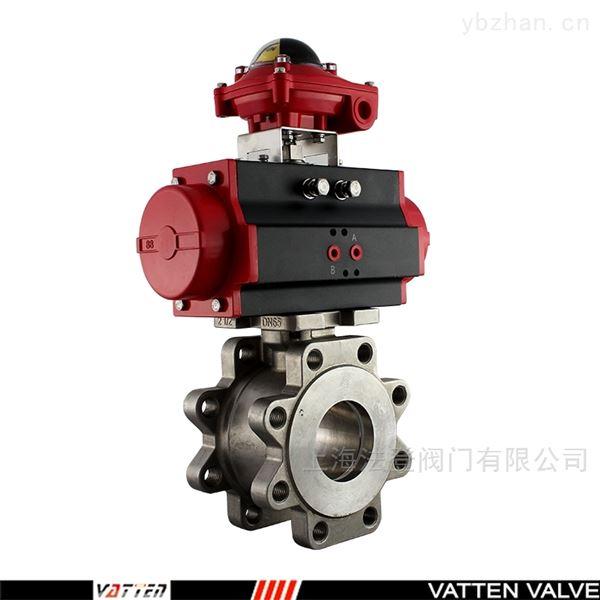 不锈钢气动对夹球阀 球阀与管道连接方式