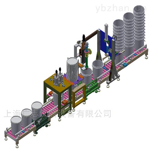 甲醇双头半自动称重容积式灌装机