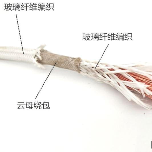 玻璃丝编织耐高温电缆AFHBR-1*95mm2