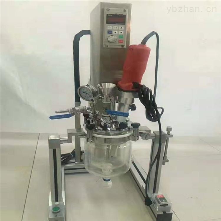 YK-1L-实验室高低温真空玻璃反应釜