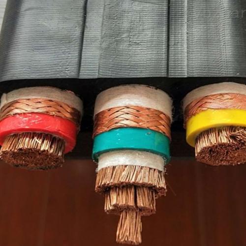 硅橡胶扁平电缆YGCB-VFRP-3*240mm2