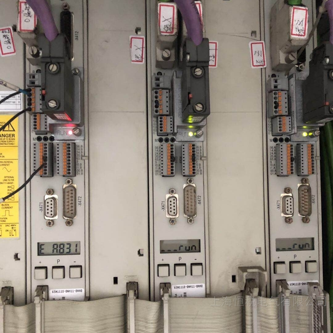 西门子810D伺服控制器Y轴报故障修好可测