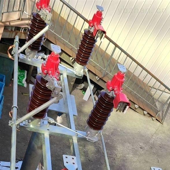 南充水电站水平式35KV高压隔离开关