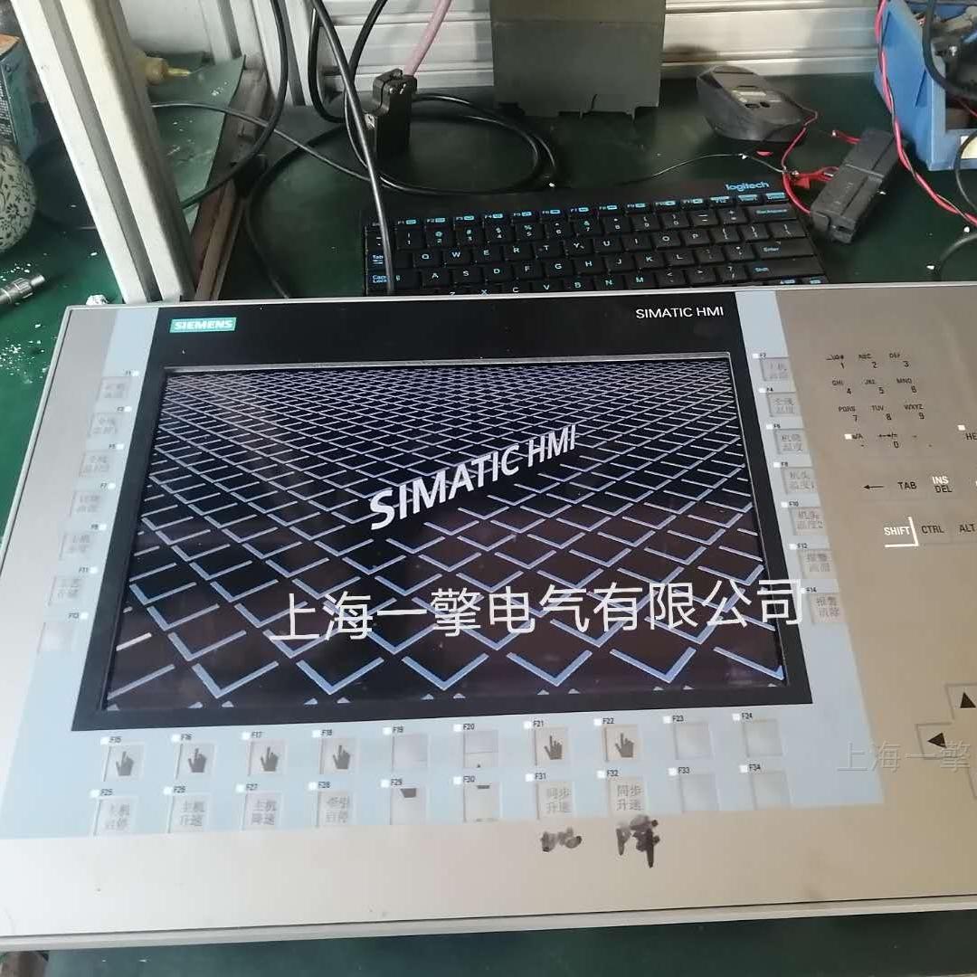 西门子TP700无显示白屏故障通修