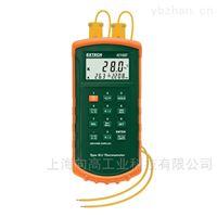 EXTECH双通道热电偶测温表