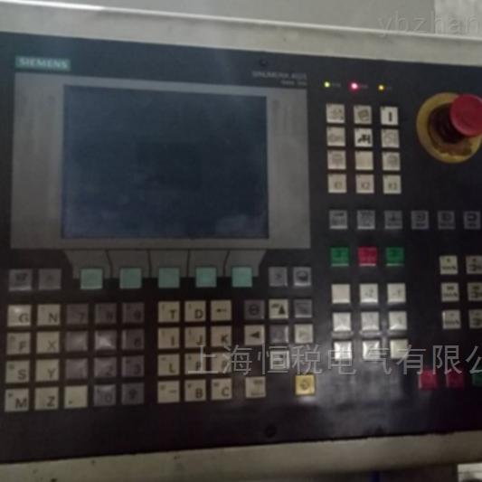 西门子数控系统808D启动无显示修好可试