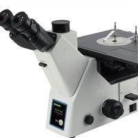三目倒置式金相显微镜