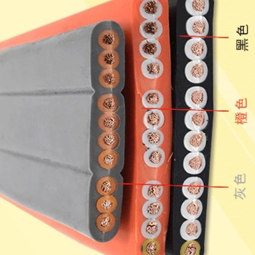 硅橡胶扁平软电缆KGGRB-16*2.5mm2