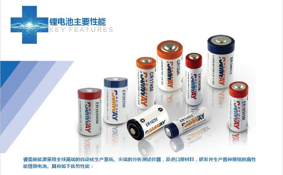 广西睿奕新能源股份有限公司-锂亚、锂锰电池产品