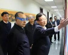 库热西调研黑龙江测绘地理信息工作