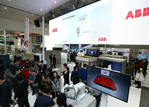 ABB自动化控制系统等产品亮相世界智能制造大会