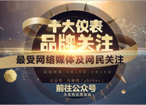 """2016""""十大仪表品牌关注""""校验仪表投票入口已开通"""