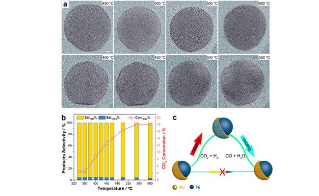 基于原位電鏡揭示雙金屬催化劑反應狀態的真實活性表面