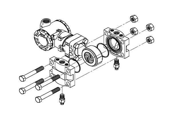 3351gp智能压力变送器结构示意图