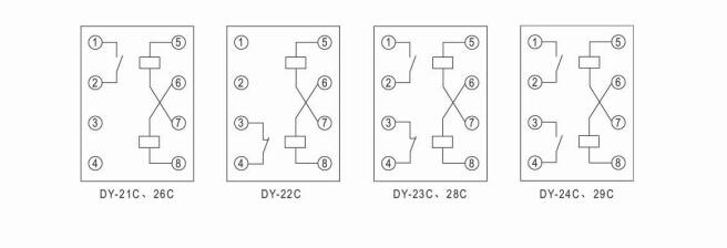 dy-26c电磁式过电压继电器
