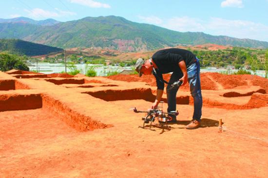 rtk与无人机助力吐鲁番遗迹考古