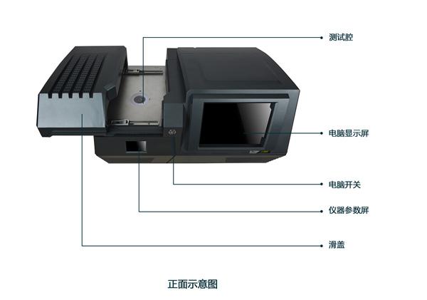黄金检测仪EXF9600S结构图