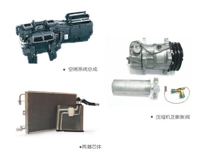 汽车冷凝器内部结构
