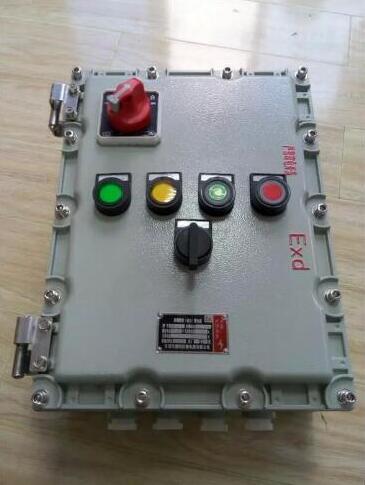 浙江定做非标电机正反转防爆控制箱厂家