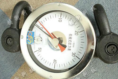 机械式指针式拉力表图片